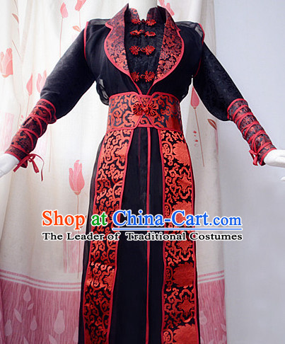 Chinese Traditional Prince Hanfu Dress Ancient Chinese Emperor Mens Costumes Complete Set for Men