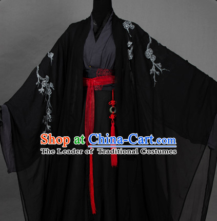 Ancient Chinese Prince Dresses Hanzhuang Royal Han Fu Imperial Han Clothing Traditional Chinese Dress Hanfu National Costume Complete Set for Men or Boys