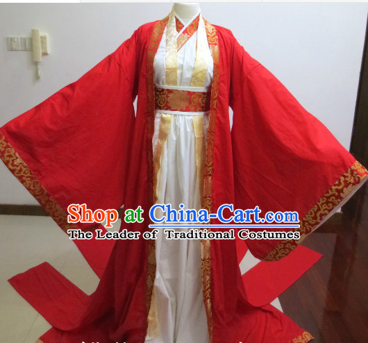 Ancient Chinese Bridegroom Wedding Dress National Costumes Complete Set for Men