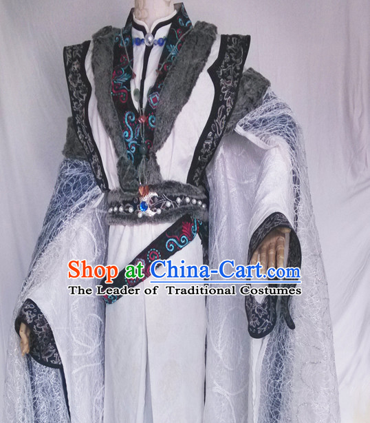 Ancient Chinese Nobleman Clothing Rich Family Memeber Dress National Costumes Complete Set for Men