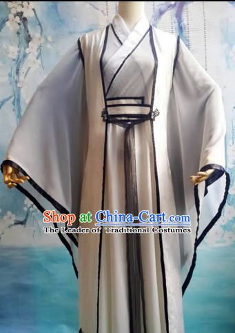 Ancient Chinese Hanfu Han Fu Clothes for Men