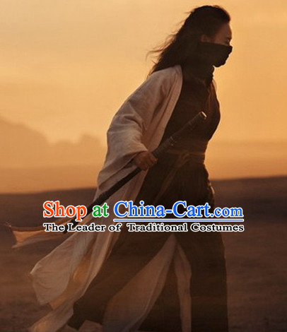 Traditional Chinese Costume Sale Swordswoman Costumes Complete Set