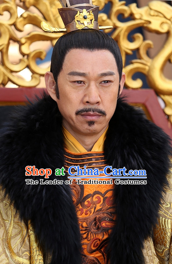 Chinese Ancient Tang Dynasty Emperor Coronet Imperial Crown for Men