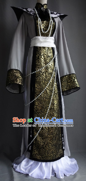Ancient Chinese Imperial Prince Dresses Traditional Chinese Hanfu Complete Set
