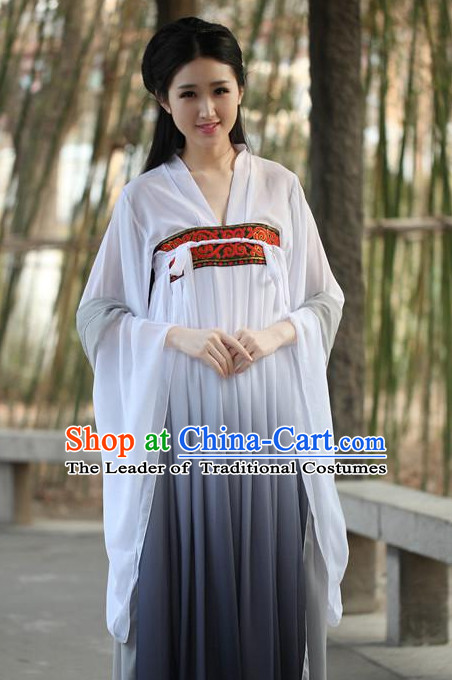Ancient Chinese Women Dresses Black Hanfu Girls China Classical Clothing Histroical Dress Traditional National Costume Complete Set