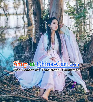 Ancient Chinese Women Dresses Ruqun Hanfu Girls China Classical Clothing Histroical Dress Traditional National Costume Complete Set