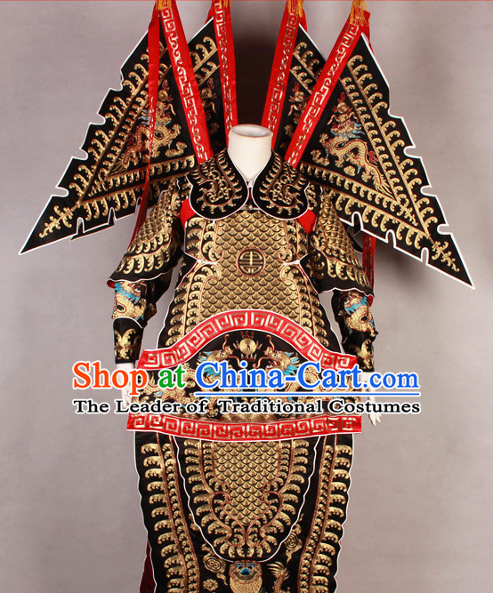 China Beijing Opera Chinese Peking Opera Empress Costume Embroidered Robe Phoenix Costumes Complete Set