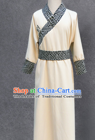 Asian Mongolian Minority Emperor Mongol Long Robe Mongolia Prince Clothing Ethnic Traditional Costumes Complete Set