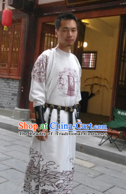 Traditional Chinese Ancient Tang Dynasty Dragon Robe Clothing Imperial Dresses Beijing Classical Chinese Clothing for Men