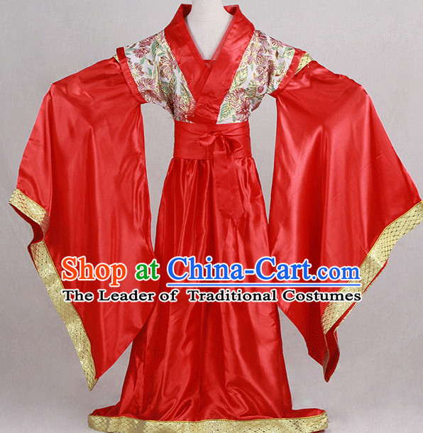 Traditional Chinese Ancient Clothing Han Fu Dresses Beijing Classical China Clothing for Women
