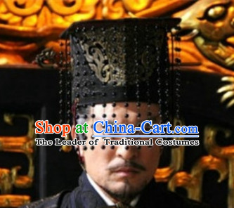 Qin Shi Huang Emperor of the Qin Dyansty Crown Hat Coronet