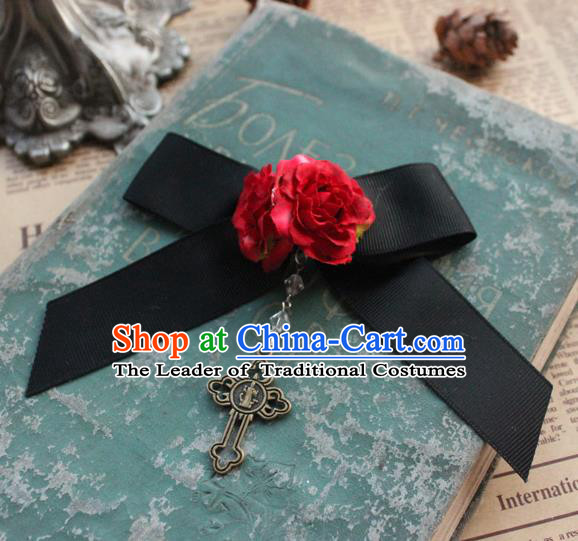Traditional Classic Women Jewelry Accessories, Traditional Classic Gothic Restoring Ancient Bowknot Brooch for Women