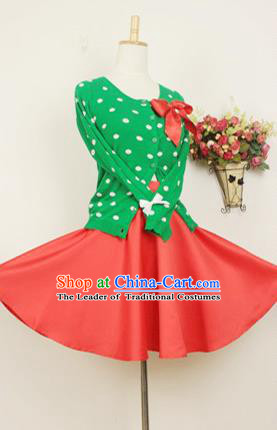 Traditional Classic Elegant Women Costume Half Skirt, Restoring Ancient Princess Christmas Short Skirt for Women