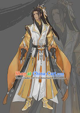 Chinese COSPLAY Fairy Costume Garment Chinese Tradtional Dress Costumes Dress Adults Cos Asian King Clothing