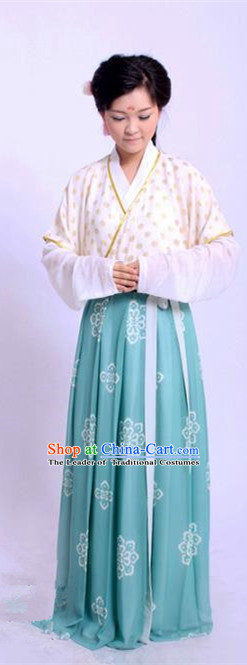 Traditional Chinese Tang Dynasty Princess Embroidered Costume, Asian China Ancient Hanfu Young Lady Dress Clothing