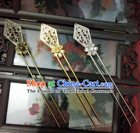 Traditional Chinese Ancient Classical Hair Accessories Hair Clip Bride Hairpins for Women