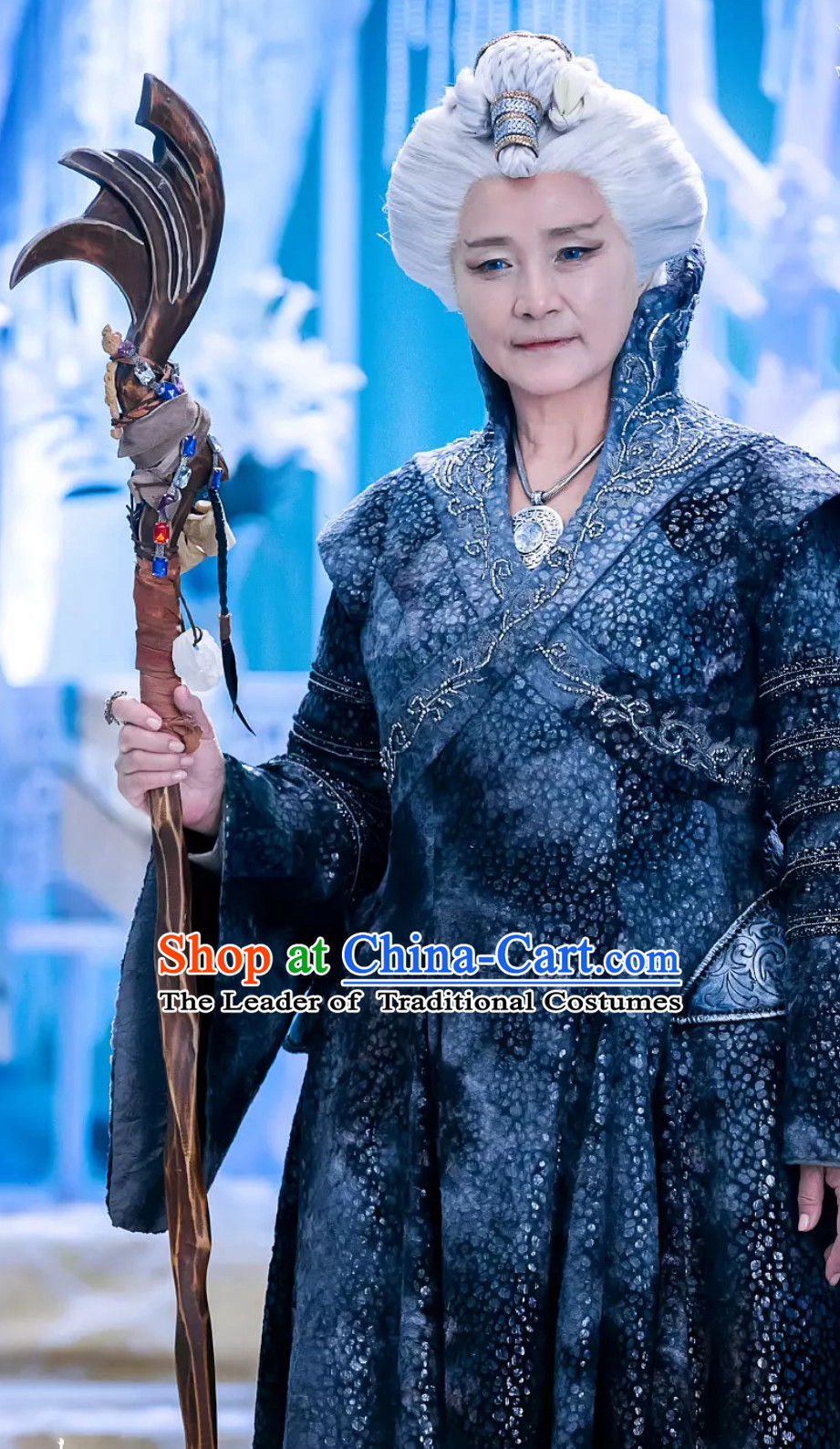 Fantasy Drama Empress Asian Royal Costumes Complete Set for Women