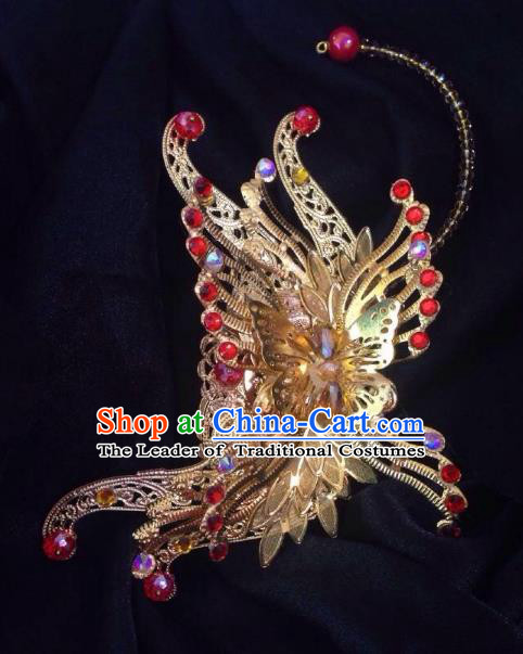 Chinese Traditional Ancient Royal Highness Hair Accessories Handmade Tuinga Hairdo Crown for Men