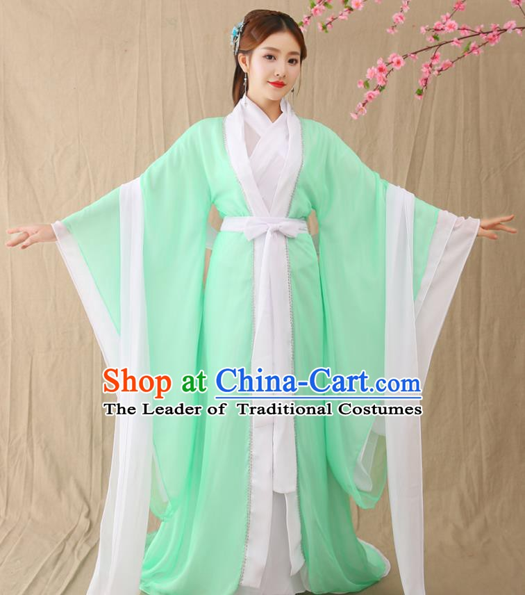 Traditional Chinese Tang Dynasty Princess Costume, China Ancient Palace Lady Hanfu Dress Clothing for Women
