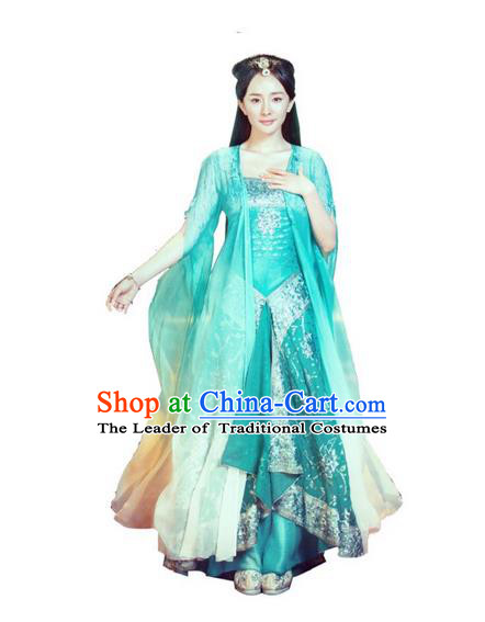 Traditional Ancient Chinese Costume Chinese Style Wedding Dress Han Dynasty Imperial Princess Clothing Hanfu for Women