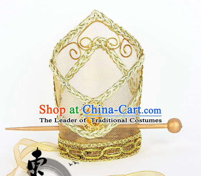 Chinese Wedding Jewelry Accessories, Traditional Emperor Headwear, Emperor Royal Crown, Ancient Chinese Emperor Coronet for Men