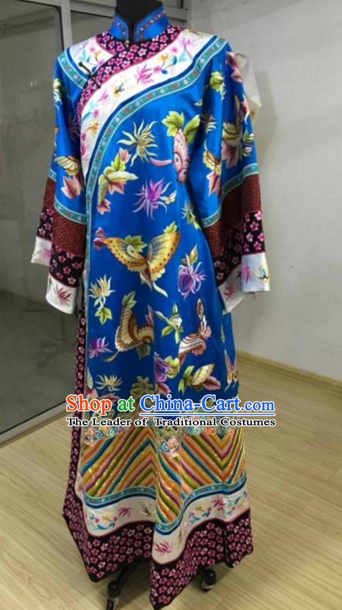 Chinese TV Drama Zhen Huan Legend Empress Embroidered Garment Clothes for Women