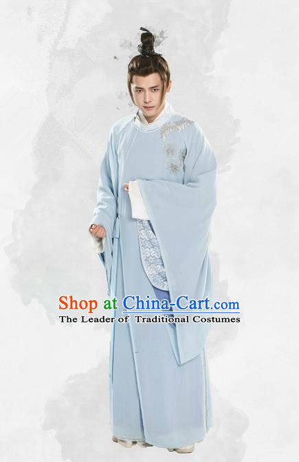 Traditional Chinese Ancient Nobility Childe Prince Costume and Handmade Headpiece Complete Set, China Tang Dynasty Prince Clothing for Men