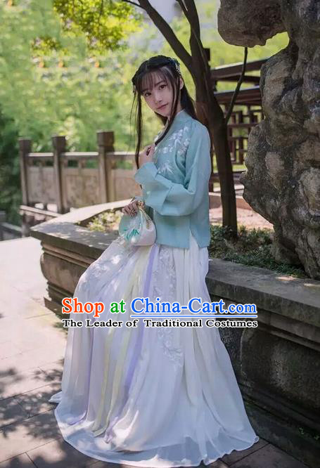 Traditional Ancient Chinese Young Women Dress Clothing for Women
