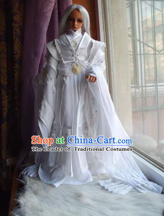 Traditional Ancient Swordsman Costumes Complete Set, China Ancient Cosplay Royal Highness Clothing Chivalrous Expert Outfit for Men for Kids