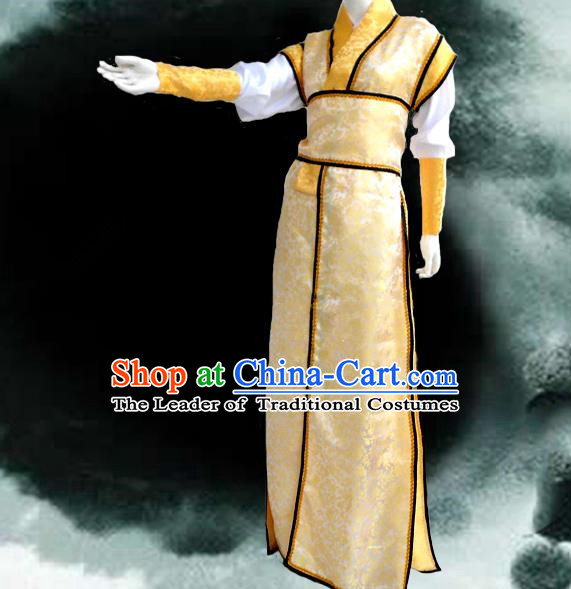 Traditional Chinese Cosplay Male Prince Costume, Chinese Ancient Hanfu Han Dynasty Swordsman Clothing for Men