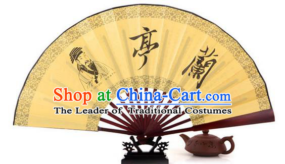 Traditional Chinese Crafts Beauty Folding Fan China Paper Fan Imperial Consort Fans for Women