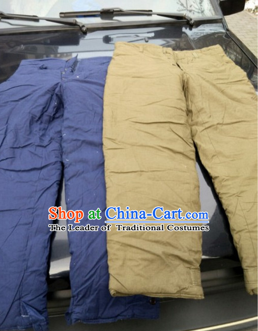 Traditional Chinese Classical Style Handmade Old Pants