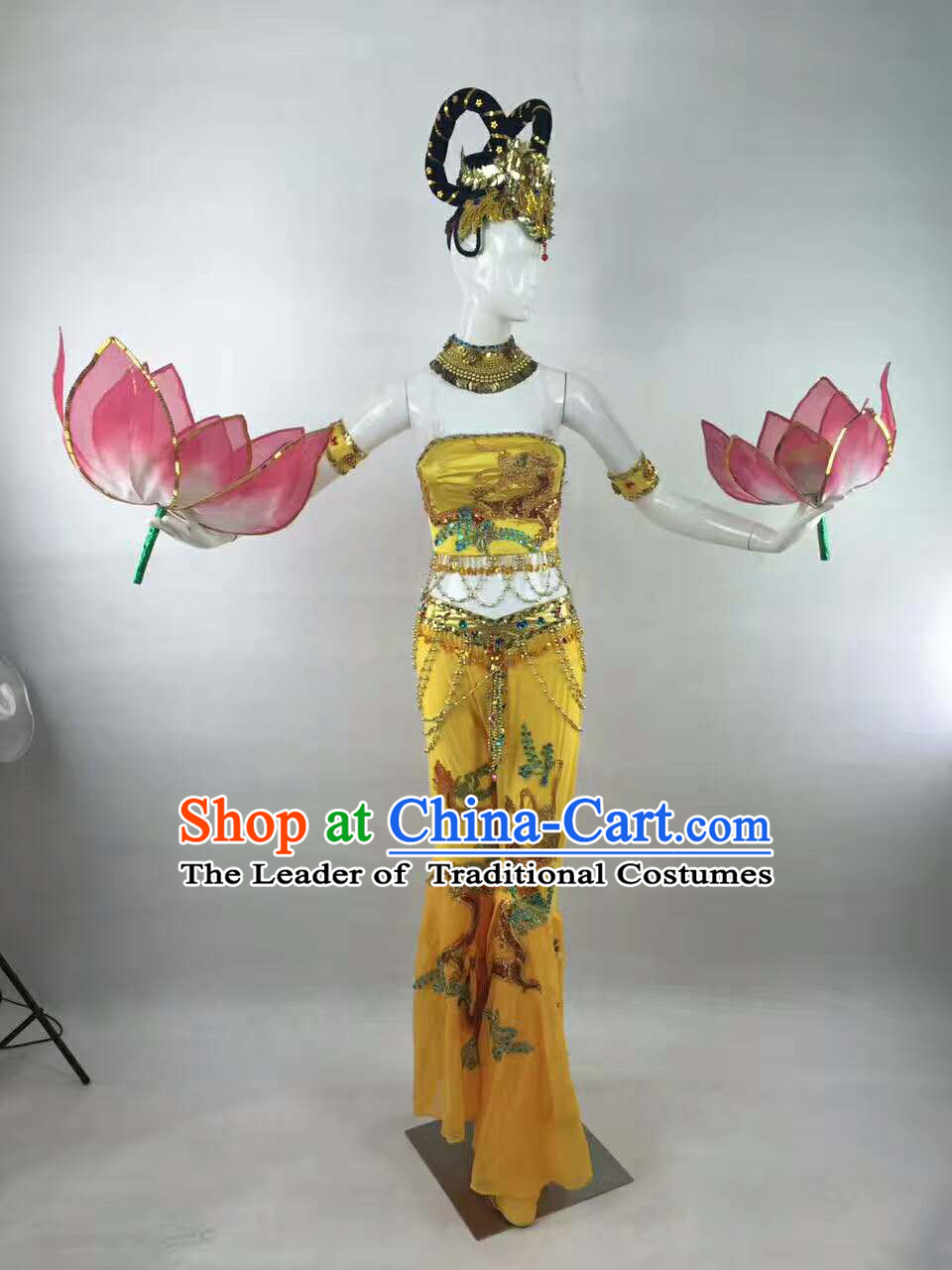 Professional Stage Performance Costumes Made to Order Custom Tailored Dance Costume and Classical Headpieces Hair Accessories