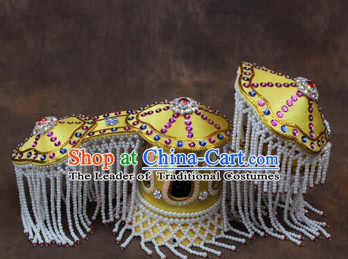Traditional China Beijing Opera Actress Hair Accessories Coronet, Chinese Peking Opera Imperial Concubine Headwear