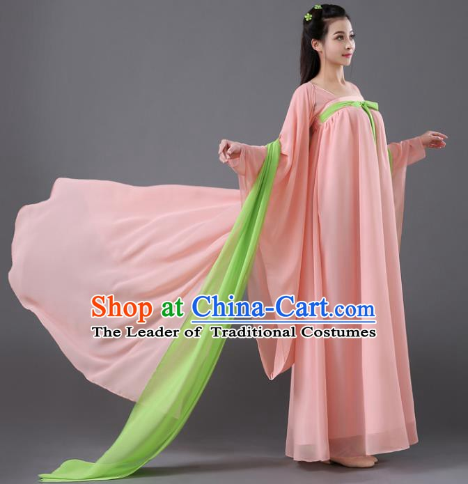 Traditional Chinese Tang Dynasty Court Concubine Embroidered Costume, China Ancient Imperial Consort Hanfu Clothing for Women