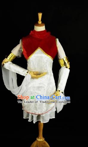 Traditional Chinese Ming Dynasty Swordswoman Costume Ancient Young Lady Clothing for Women
