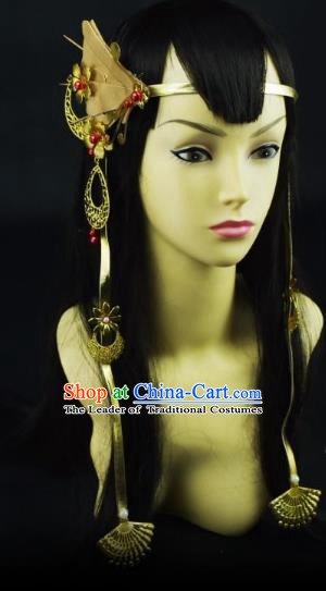 Traditional Handmade Chinese Ancient Classical Hair Accessories Princess Hair Sticks Hair Fascinators Hairpins for Women