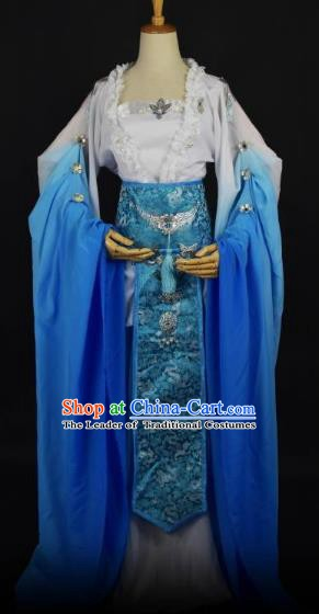 Traditional Chinese Ancient Princess Hanfu Costume Han Dynasty Palace Lady Dress Clothing for Women