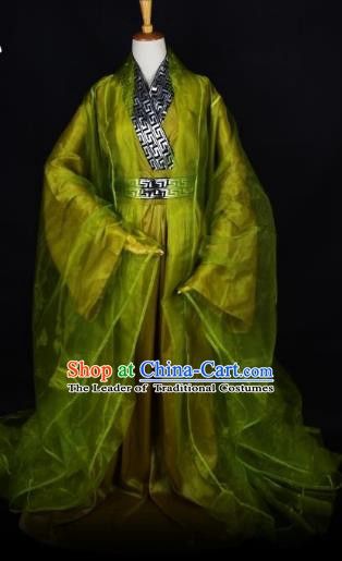 Traditional Chinese Ancient Scholar Hanfu Costume, China Han Dynasty Nobility Childe Clothing for Men