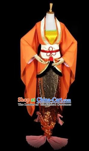 Traditional Chinese Ancient Cosplay Princess Costume Tang Dynasty Fairy Young Lady Clothing