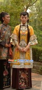 Traditional Chinese Ancient Republic of China Young Mistress Embroidered Xiuhe Suit Costume for Women