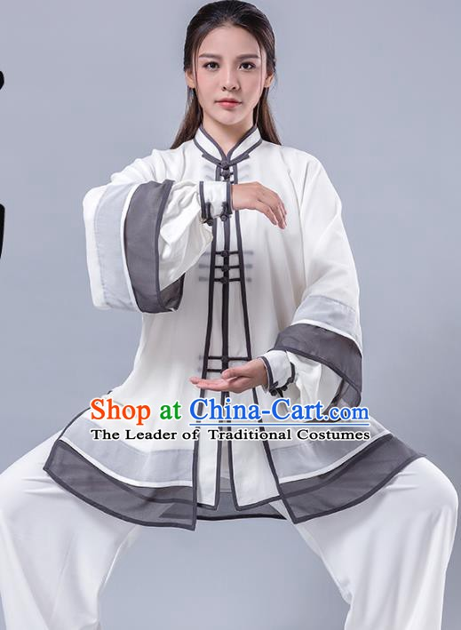 Top Grade Chinese Kung Fu Costume China Martial Arts Training Uniform Gongfu Shaolin Wushu Clothing for Women