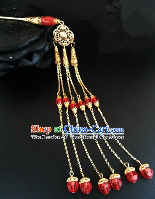 Handmade Traditional Chinese Classical Hair Accessories Ancient Palace Lady Hanfu Step Shake Hairpins for Women