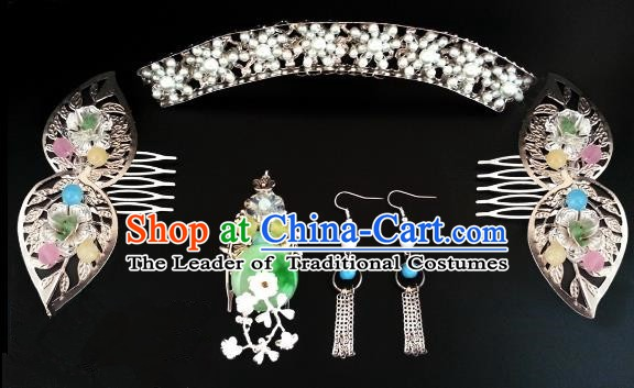Handmade Traditional Chinese Classical Hair Accessories Ancient Palace Lady Hanfu Hairpins for Women