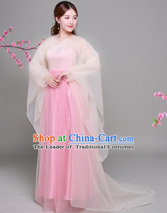 Traditional Chinese Tang Dynasty Imperial Princess Costume, China Ancient Palace Lady Hanfu Dress Clothing for Women