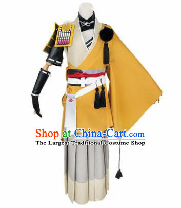 Chinese Traditional Cosplay Taoist Costumes Ancient Swordsman Clothing for Men