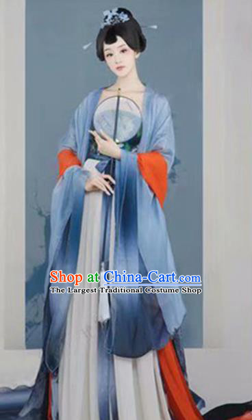Traditional Chinese Tang Dynasty Costumes Ancient Imperial Consort Hanfu Dress for Women