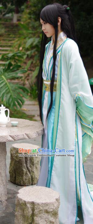 Traditional Chinese Cosplay Costumes Ancient Prince Embroidered Hanfu Clothing for Men