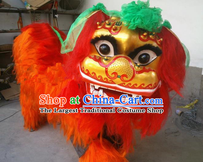 Chinese Traditional Lion Dance Costumes China Spring Festival Lion Dance Props Lion Head for Adults