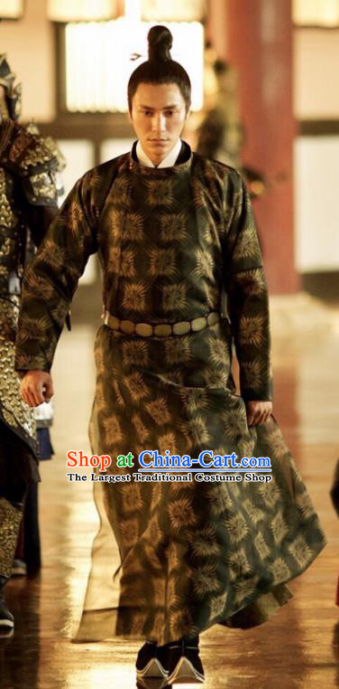 Chinese Ancient Tang Dynasty Prince Costumes The Rise of Phoenixes Swordsman Clothing for Men